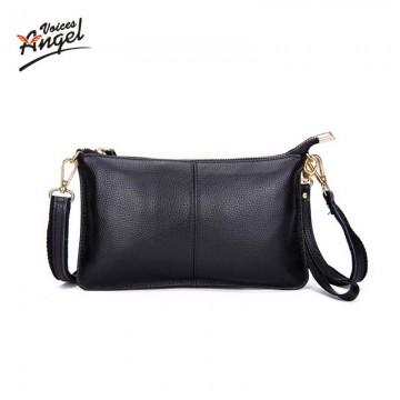 2017 Genuine Leather Women Clutch Bags Cowhide Envelope Organizer Purse Evening Party Handbags Ladies Small Shoulder Beautician32614775681