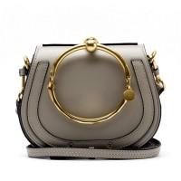 2017 New 19/24cm annulus women messenger bags luxury handbags women bags designer women leather handbags  Crossbody bags