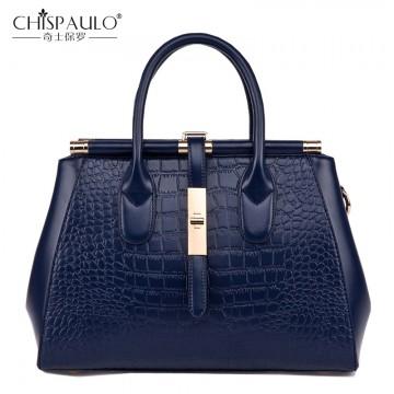 2018 High Quality Embossed Genuine Leather Women Shoulder Bags Famous Brand Luxury Handbags Women Bags Designer Ladies Bag sac32651983325